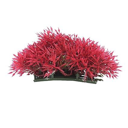 bulary adorno de acuario pecera decoración paisajismo Agujas de pino hierba