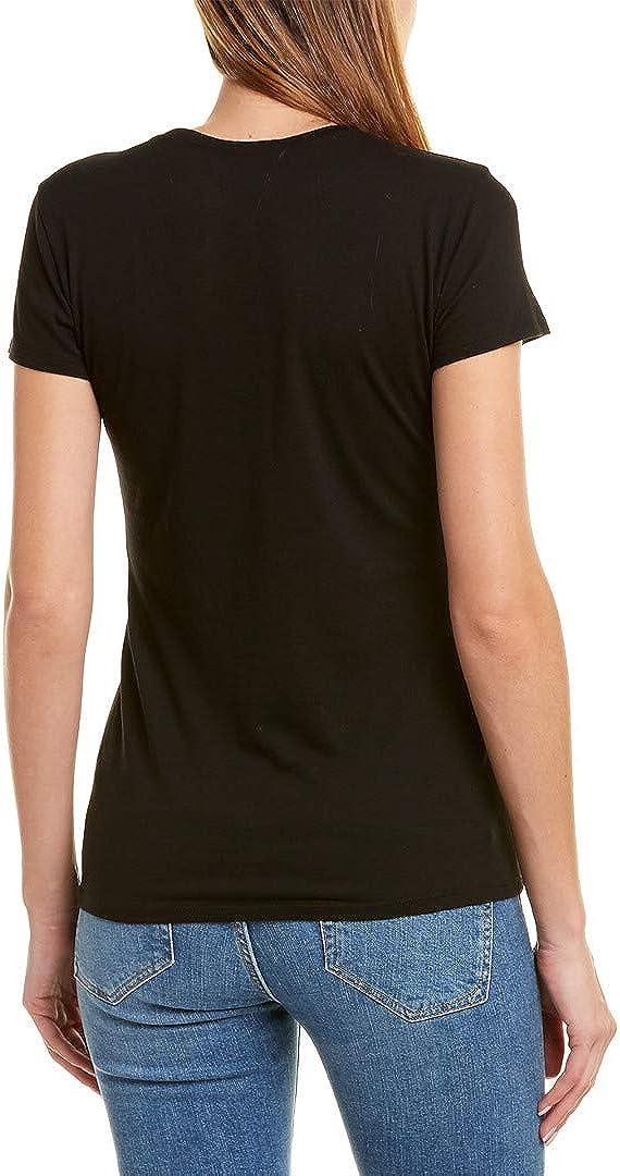 L Black Vince Womens Little Boy T-Shirt