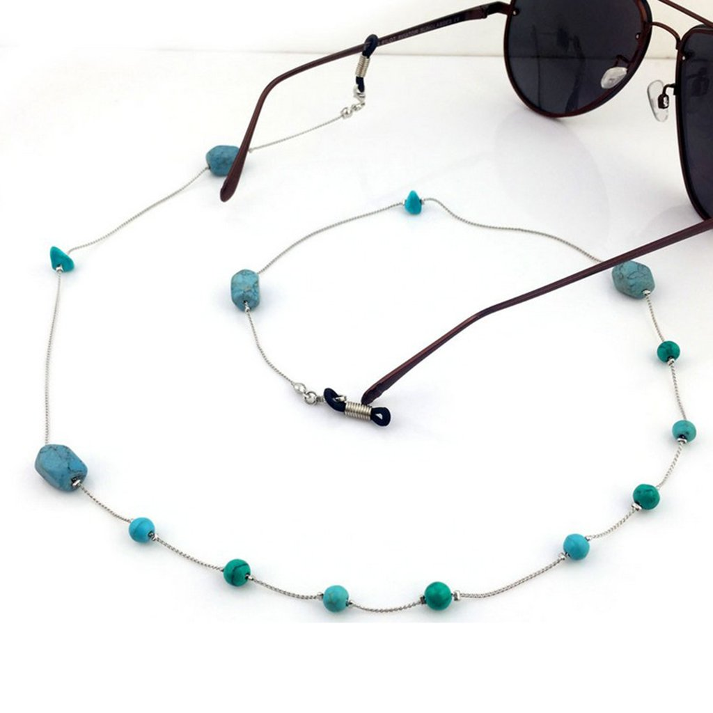 Hellery Perline Catena Collo Corda per Supporto di Occhiali da Sole Polarizzati