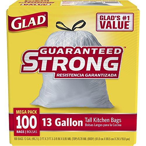 Glad Kitchen Bags 100 - 3