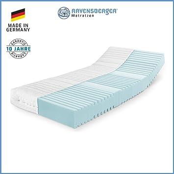 Ravensberger Orthopädische 7 Zonen Hybrid Kaltschaumkomfortmatratze Rg 40 Härtegrad 3 80kg Bis 120kg Made In Germany 10 Jahre Garantie