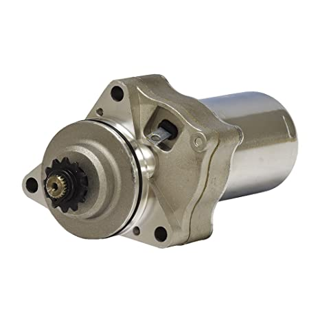 Monster Motion 12 Volt Electric Starter Motor for 50cc - 150cc ATV & Dirt  Bike Engines with 3 Mounting Holes
