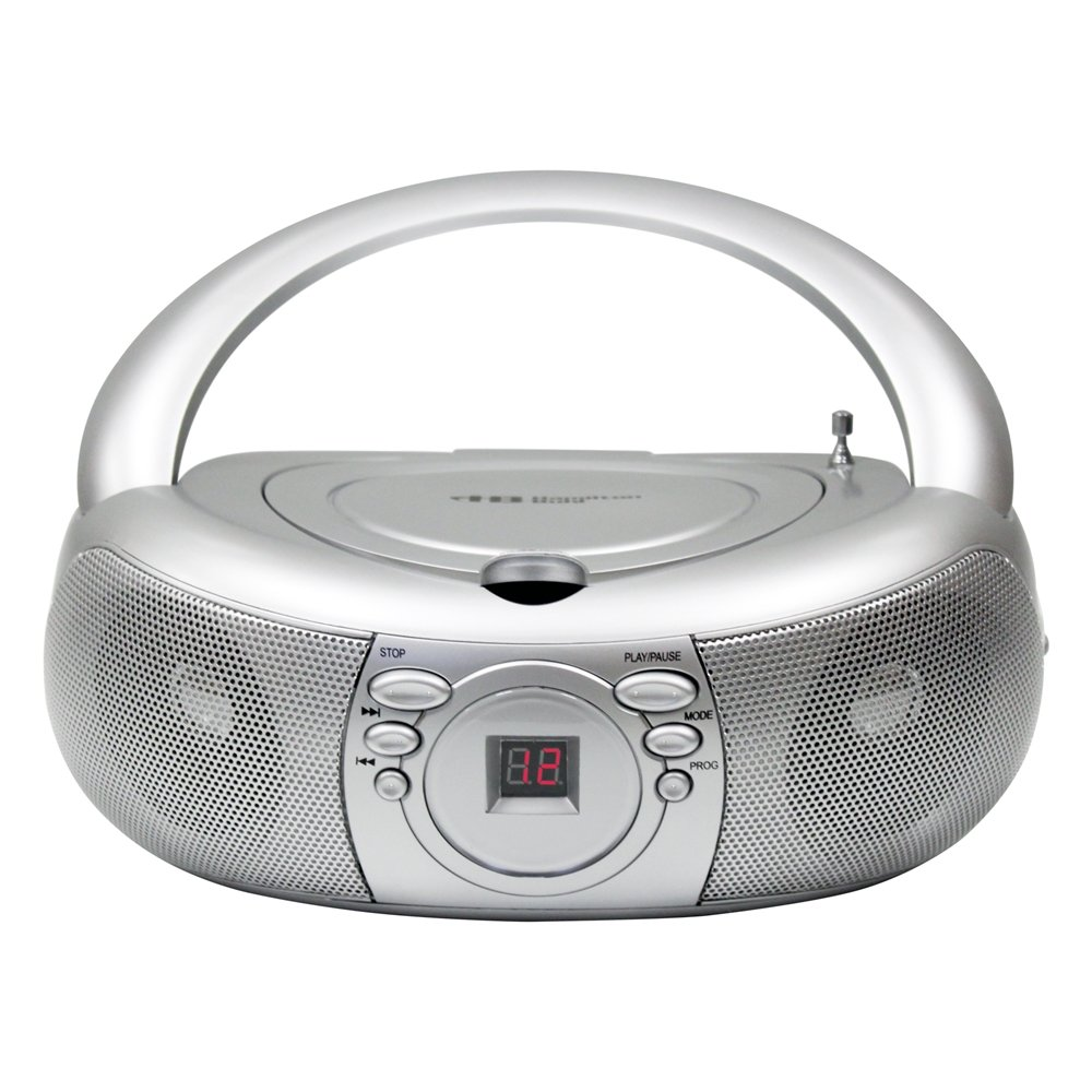 Hamilton Buhl Top Load Home CD Player Silver (MPC-3030) by Hamilton Buhl