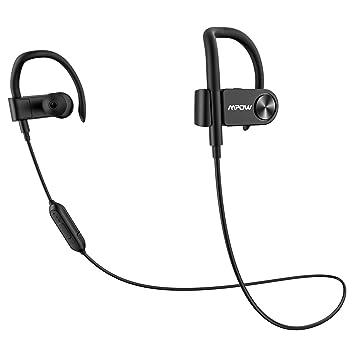 Mpow Bluetooth Auriculares Sport, Bluetooth 4.1 auriculares en Ear Auriculares Original con IPX5 Agua Densidad