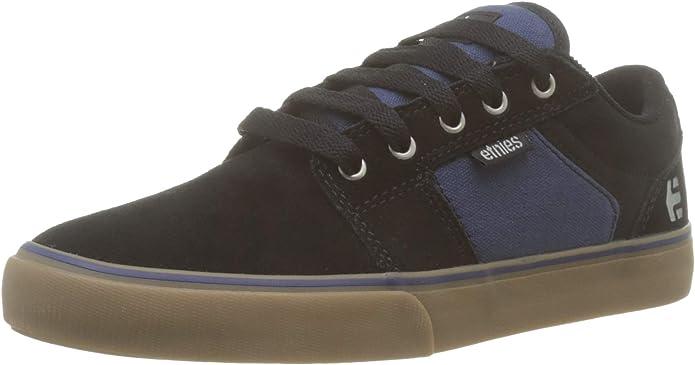 Etnies Barge LS Sneakers Skateboardschuhe Herren Schwarz/Blau
