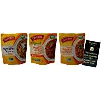 Tasty Bite Indian Cuisine Side Dish | Non-GMO | 3 Flavor Variety (1) each: Vegetable Korma, Organic Hot Madras Lentils…