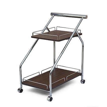 @home By Nilkamal Ivan Serving Cart (Brown)