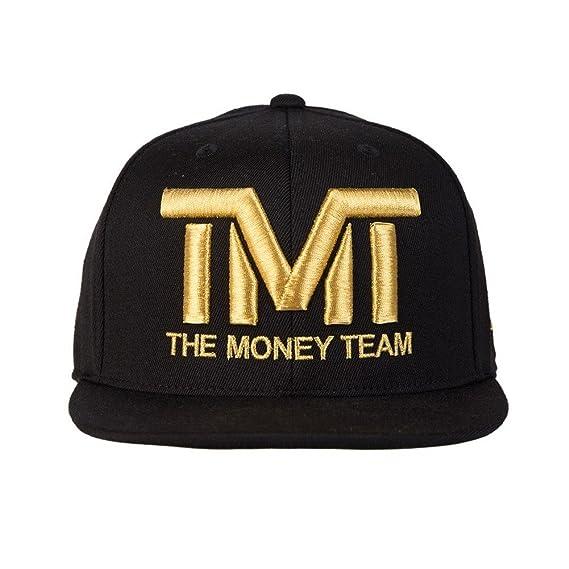 El equipo de dinero hombre Courtside, color negro y dorado: Amazon ...