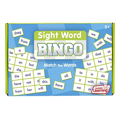 Junior Learning Sight Word Bingo Educational Action Games: Toys & Games