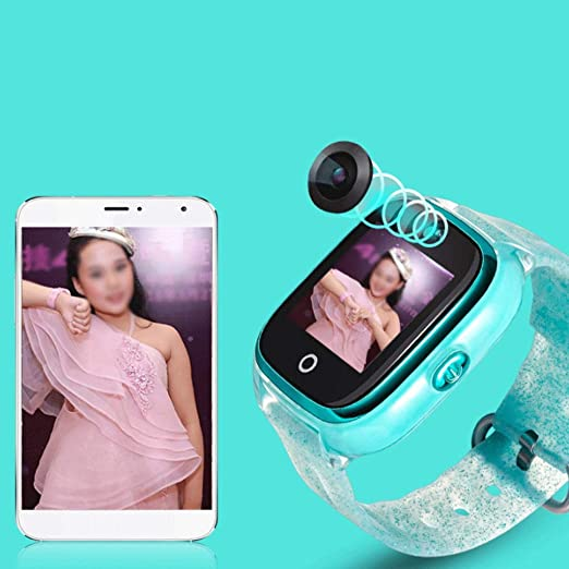 Amazon.com: Fly Childrens Smart Phone Watch GPS Positioning Smart Bracelet Sleep Monitoring IP67 Depth Waterproof Smart Watch, Pink, Blue Watch (Color ...