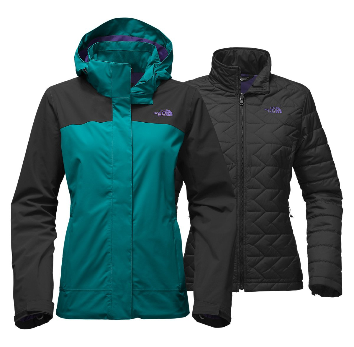 The North Face Carto Triclimate Jacket Womens Style: A2VHB-XRX Size: XL by The North Face