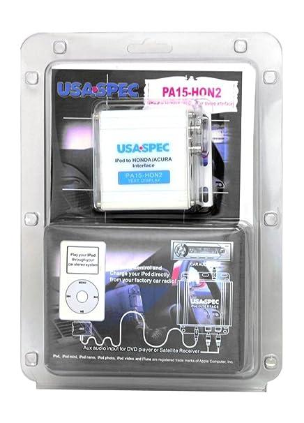 Amazoncom Usa Spec Pahon Honda Acura Ipod And - Acura rl 2005 aux input