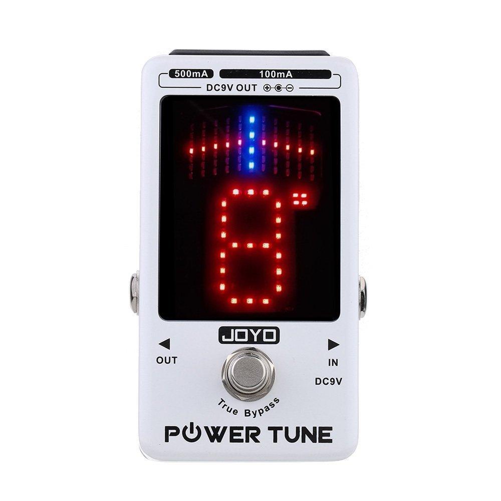 JOYO Power Tune True Bypass Electric Guitar Bass Tuner & 8 Port Multi-power Power Supply Supplier Effect by JOYO