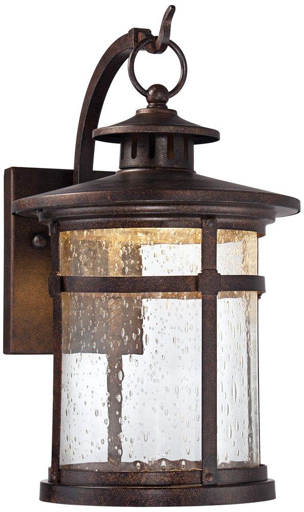Callaway Rustic Bronze 11 1/2'' High LED Outdoor Wall Light