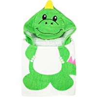 Baby Dinosaur Hooded Towel, Soft 100% Cotton Baby Bath Towels with Highly Absorbent Perfect for Girls or Boys (60 x 62cm…