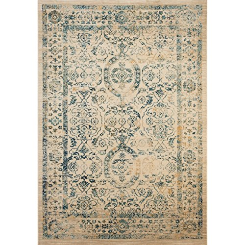 Safavieh Evoke Collection EVK513F Vintage Beige and Turquoise Area Rug (3′ x 5′) Review