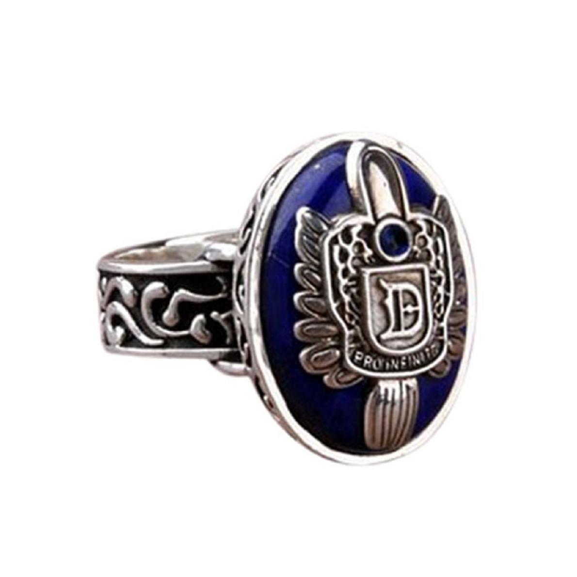 Covermason Doigt de mode Vintage Vampire Diaries Salvatore Damon Stefan Family Crest RING