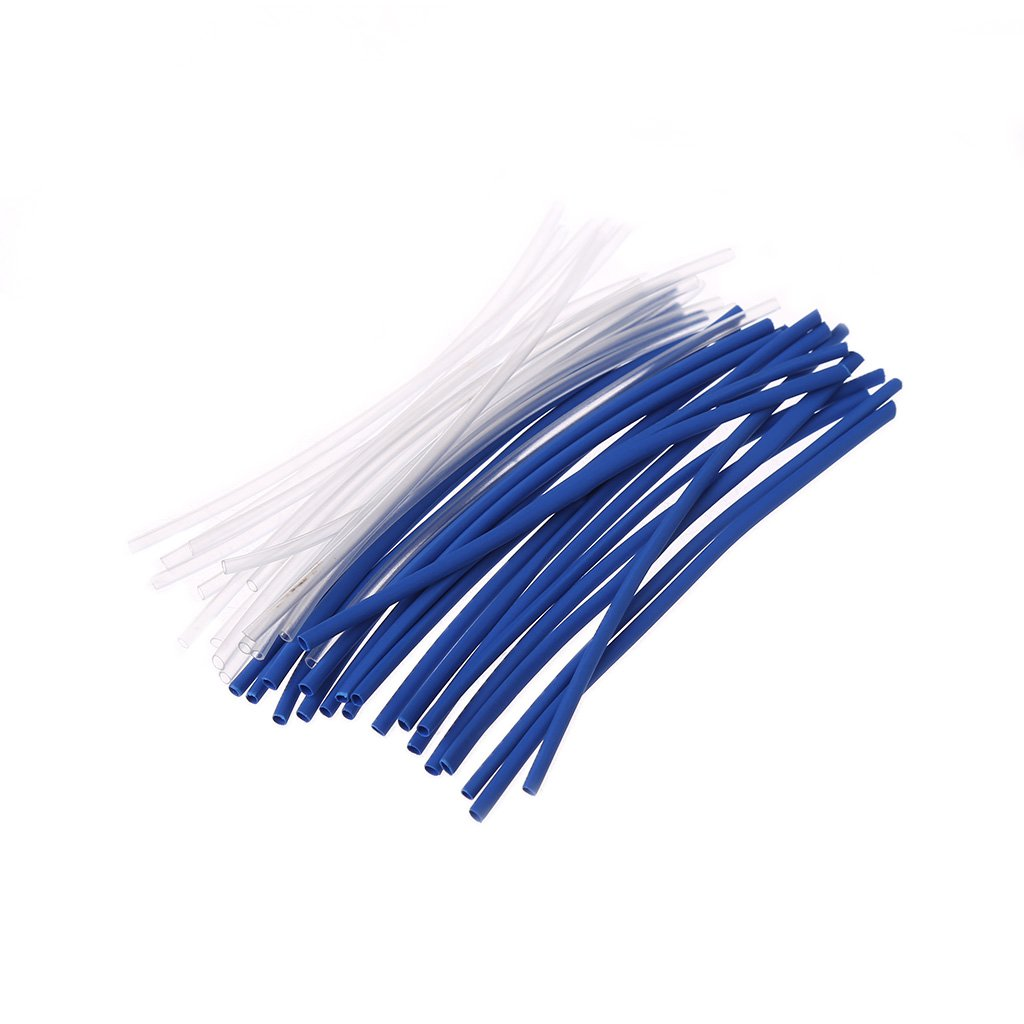 Yunso 1.0mm Heat Shrink Tubing 140pcs 2:1 Polyolefin Insulation Protection Heat Shrink Wrap Cable Sleeve