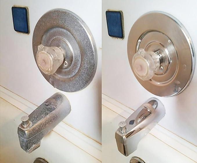 Bio Clean: respetuoso con el medio ambiente para agua quitamanchas ((grande)-nuestro profesional limpiador elimina Tuff agua manchas de puertas de ducha, ...