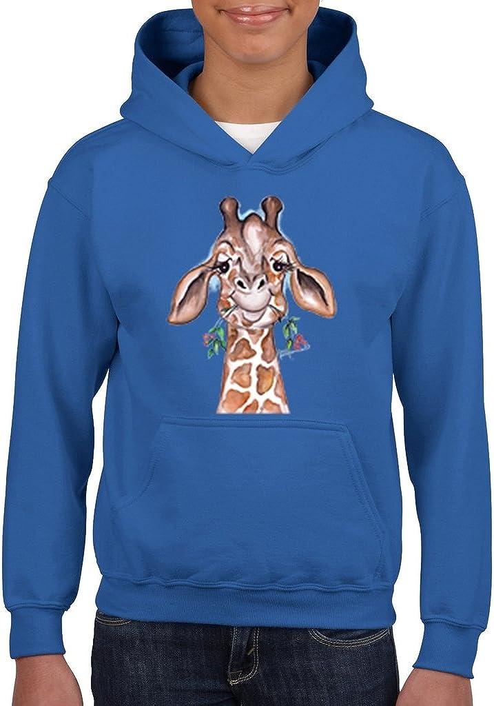 Boys Youth Kids ARTIX Giraffe Fashion People Hoodie for Girls