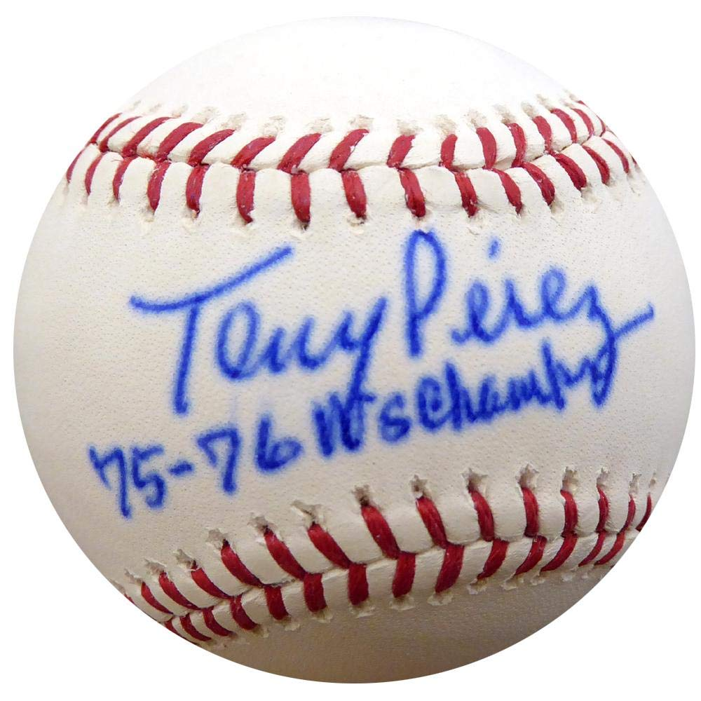 Tony Perez Autographed Official MLB Baseball Cincinnati Reds'75-76 WS Champs' ITP #4A58289 - PSA/DNA Certified Mill Creek Sports