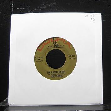 James Darren 45 RPM Diamond Head / Pin A Medal On Joey