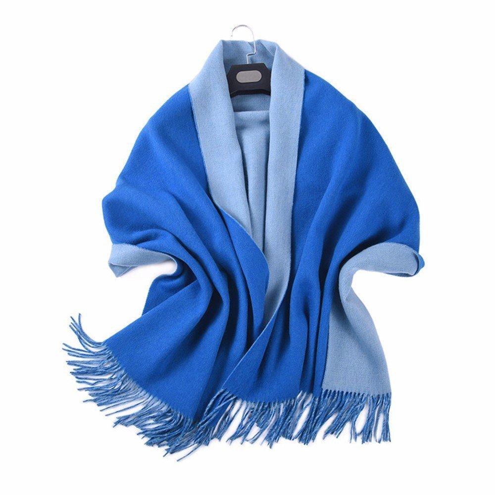 DIDIDD Bufanda de vellón caliente que espesa la bufanda disponible para damas y en otoño e invierno,D