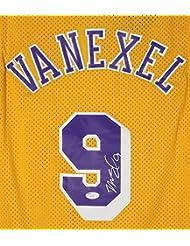 Nick Van Exel Los Angeles Lakers Signed Autographed Yellow #9 Jersey JSA COA