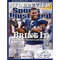$115 » LaDainian Tomlinson Signed Sports Illustrated Magazine San Diego Chargers 31 TD's + 2 Passing TD's = 2006 MVP #/21 UDA Stock #74261…