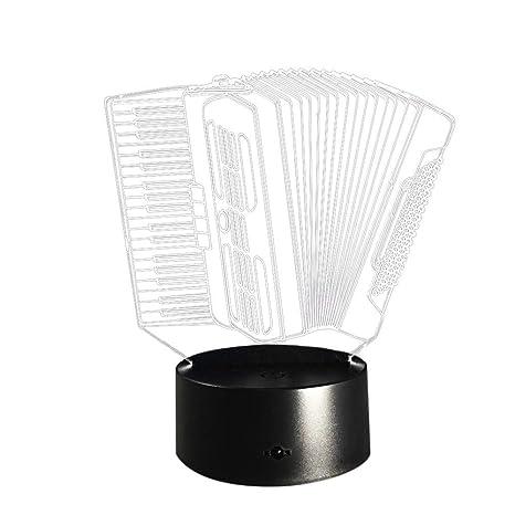 Amazon.com: Xindda 3D Illusion Lamp, 3D Illusion Visual ...