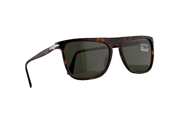 Amazon.com: Persol 3225-S - Gafas de sol con lentes verdes ...