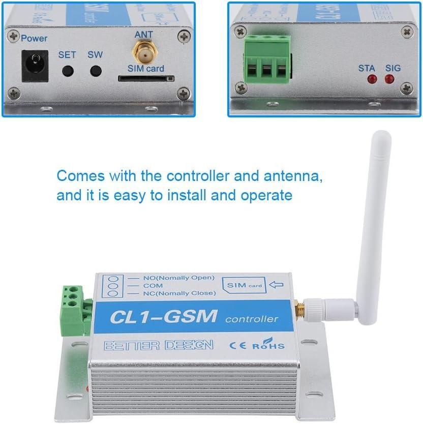 Cvmnkljfge G-R-18V-1 GSM Relay Control Board Support Mobile Phone Remote Control Switch Water Pump Control Cabinet Server Restart for Arduino /Starter /Kit