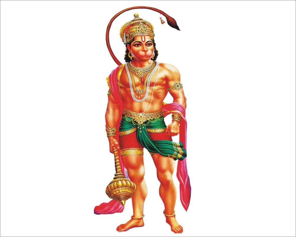 Buy bajrang bali wall sticker online at low prices in india amazon in