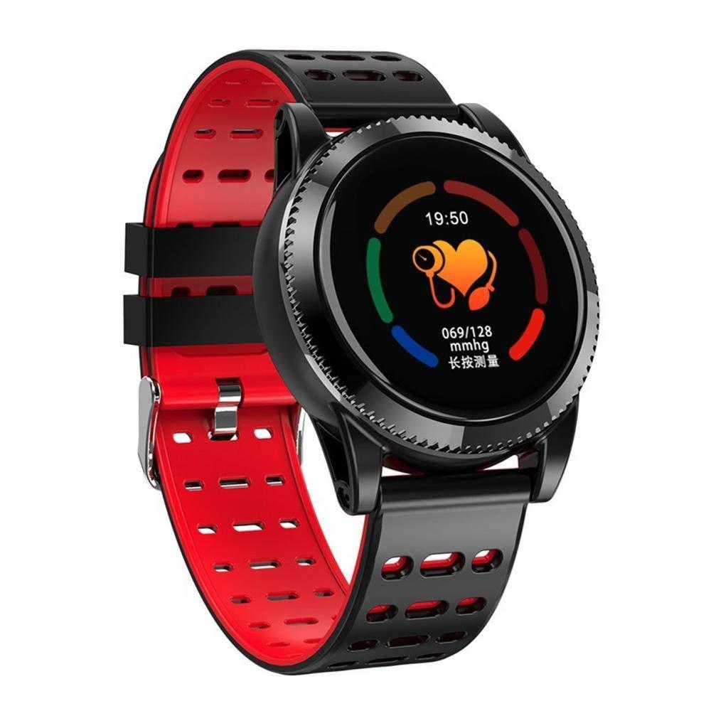Ambiguity Fitness-Armband,Smart Armband HD Farbdisplay Farbdisplay HD eine Vielzahl von Sport-Modus Schalter Gesundheitsüberwachung Armband b172eb