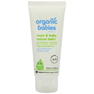 Green People Organic Babies Mum & Baby Rescue Balm - Scent Free (100ml)