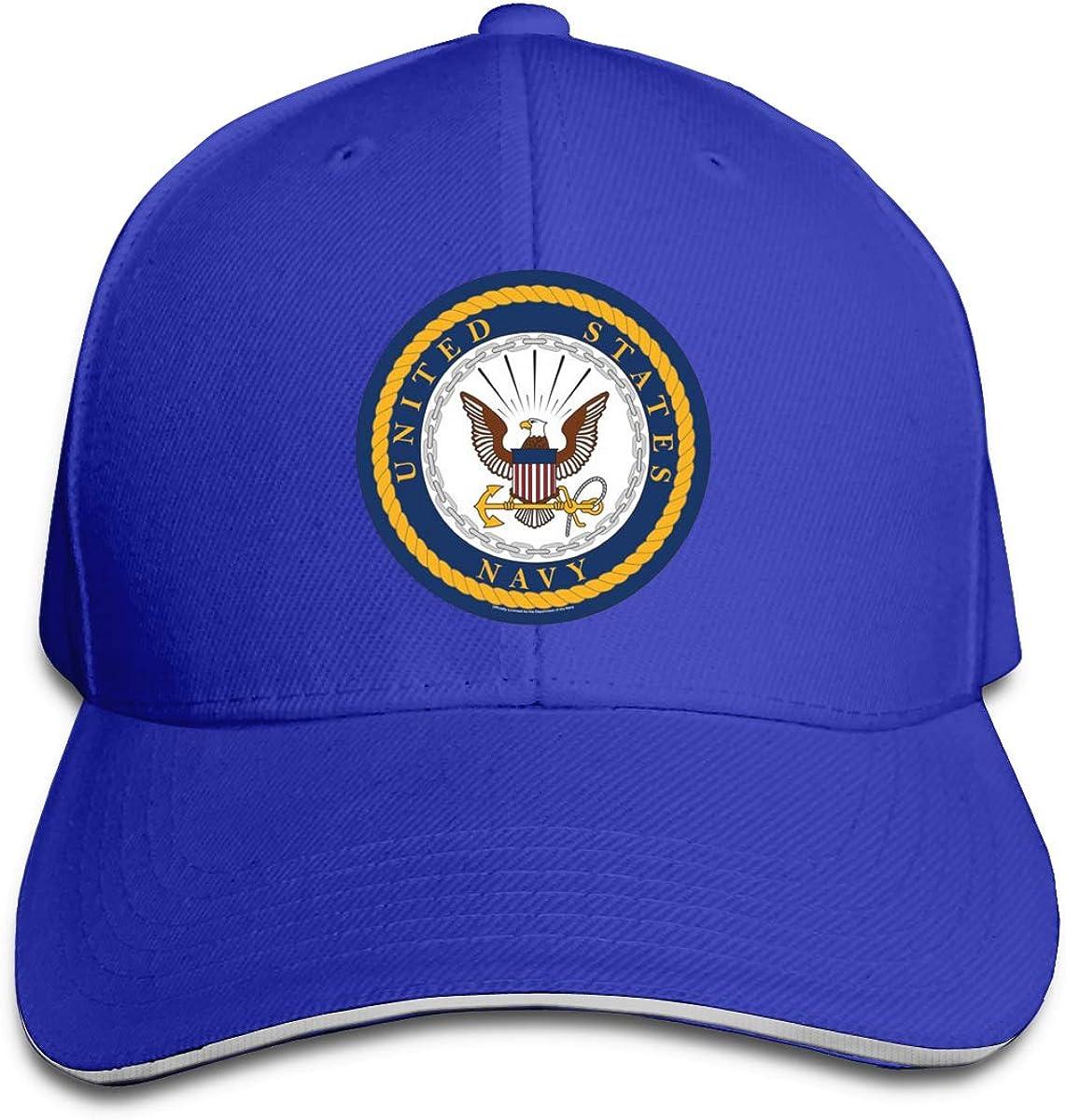 US Navy Seal Unisex Adult Baseball Caps Adjustable Sandwich Caps Jeans Caps Adjustable Denim Trucker Cap