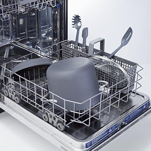 Calphalon Contemporary Hard-Anodized Aluminum Nonstick Cookware, Stock Pot, 8-quart, Black by Calphalon (Image #2)