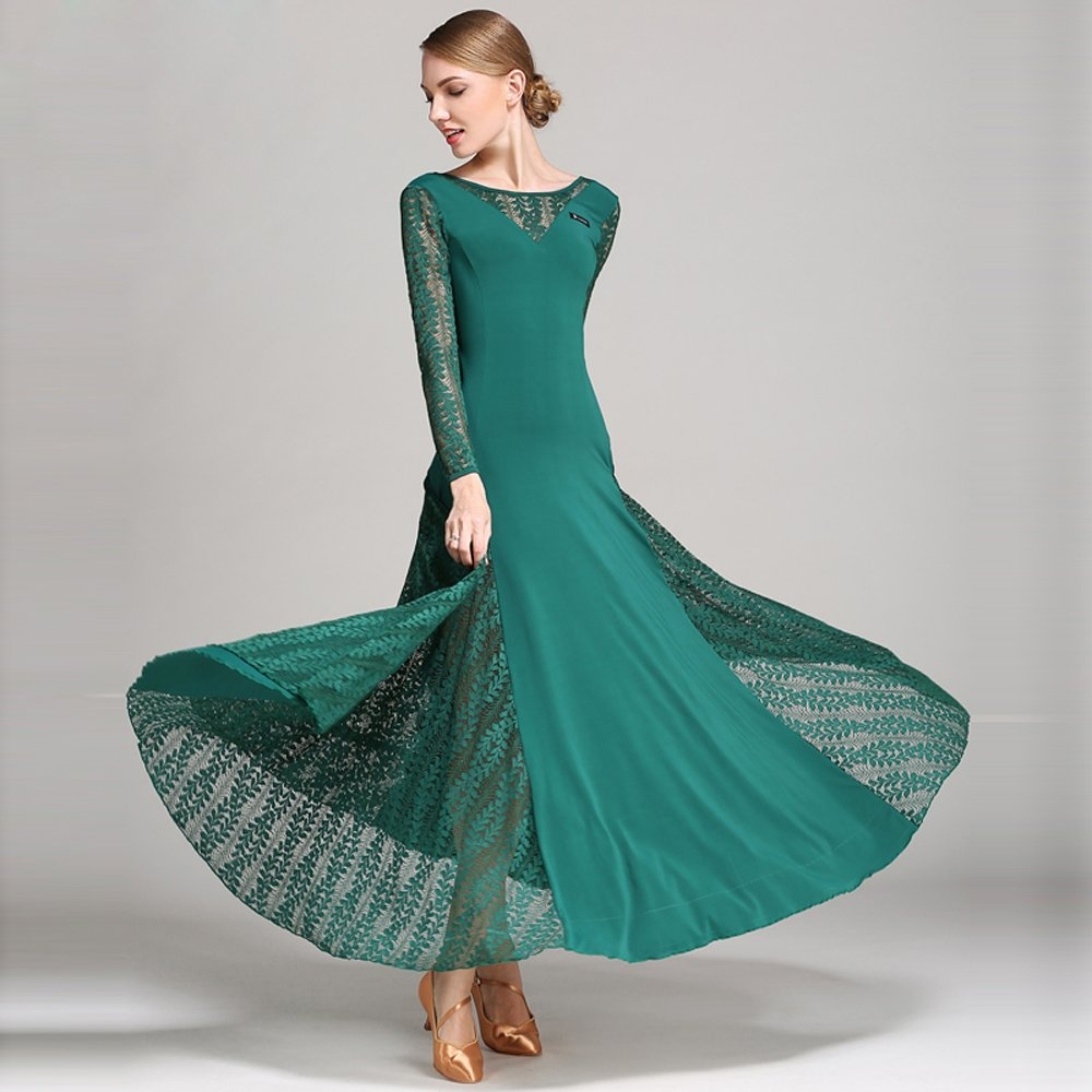 超美品の レディーモダンダンスドレスビッグ振り子スカート全国基準ダンスドレスダンスコンペティションパフォーマンスドレスラインストーンダンスコスチュームタンゴワルツスカート B07HHXNLQZ B07HHXNLQZ XL|Green XL|Green XL Green XL, ayanas:8c6e6df9 --- a0267596.xsph.ru