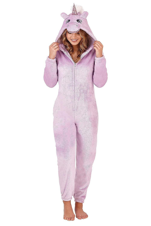 TALLA L. Loungeable - Pijama de una Pieza - para Mujer