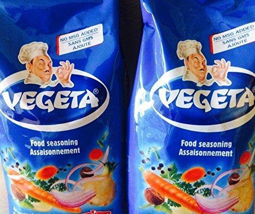 Pack of 2 Vegeta Seasoning No Msg 2.2 Lb Total