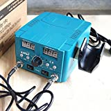 KATSU 852D 2 In 1 Hot Air Gun Soldering Heating Iron Digital Rework Station Welder 312080
