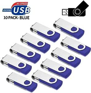 aretop 10 Unidades de Bosquejo de coñac USB 2.0 Flash Drive USB Stick Morado Morado 2 GB: Amazon.es: Informática