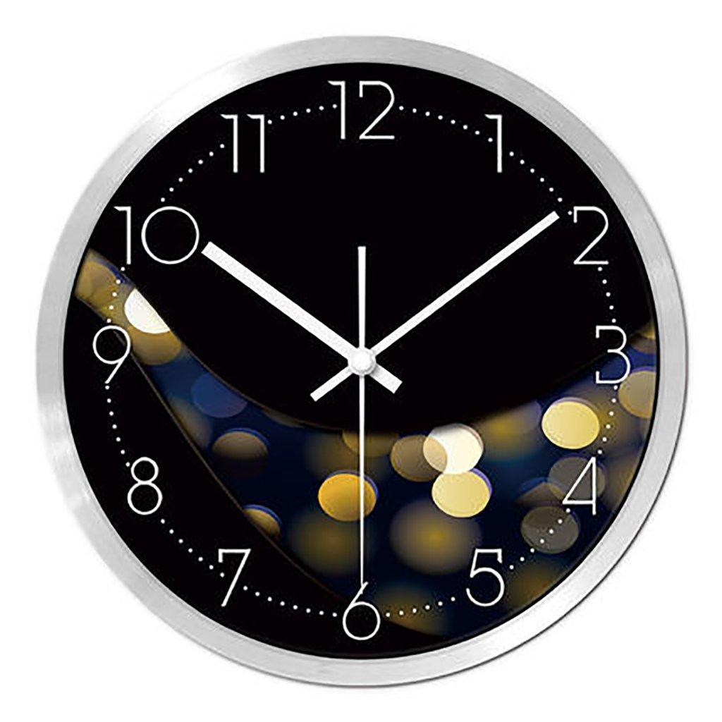 リビングルームクリエイティブ現代のクォーツ時計のベッドルーム静かなパーソナライズされたシンプルなファッションウォールクロック (色 : 3, サイズ さいず : S s) B07FQ1BTFS S s 3 3 S s