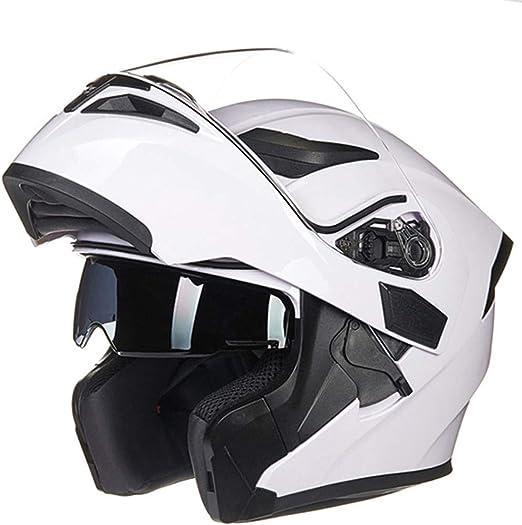 Casco Moto Integrales Modular Helmet, Flip-Up Ligero Mujer y ...
