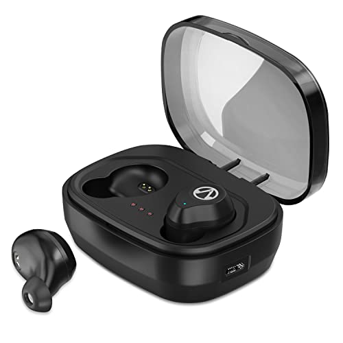 Akamino Wireless Earbuds, Bluetooth 5.0 True Wireless Headphones Strong Bass Noise Cancelling HiFi Stereo,IPX7 Waterproof Sports Bluetooth Headsets with Portable Charging Case