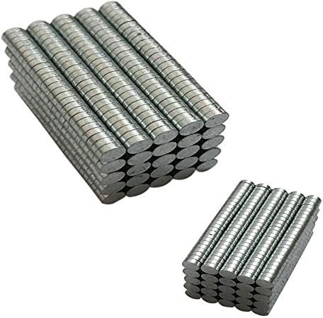 500 PCs Rare Earth Magnet 3mm x 3mm Round Neodymium N35 Disc