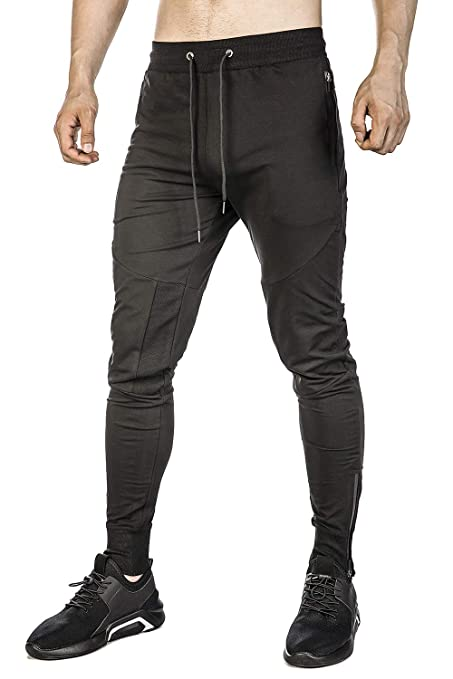 Firstgym Mens Joggers Sweatpants Slim Fit Athletic Workout Pants by Firstgym