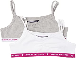 Tommy Hilfiger 2 Pack Hilfiger Crop Top - Camiseta sin Mangas Niños