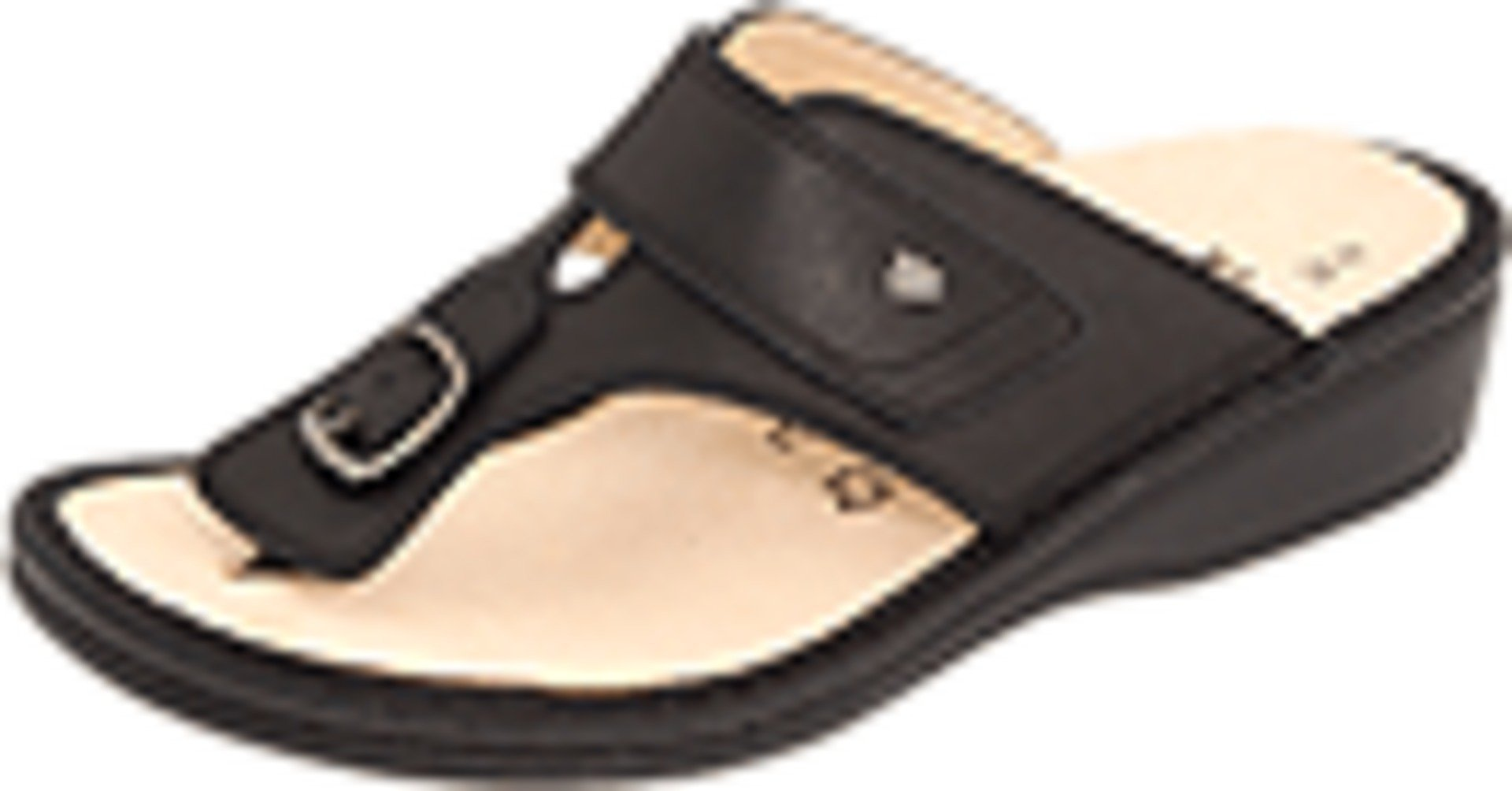 Finn Comfort Women's 2533-014099,Black Nappa Classic Footbed,39 EU/8.5-9 B US
