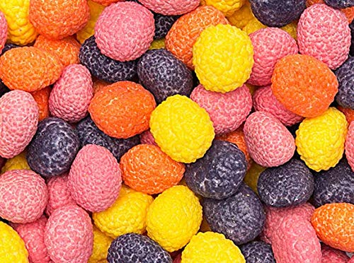 Nerds Covered Chewy & Bumpy Jelly Beans BULK - 2.4 Pound Bag - -